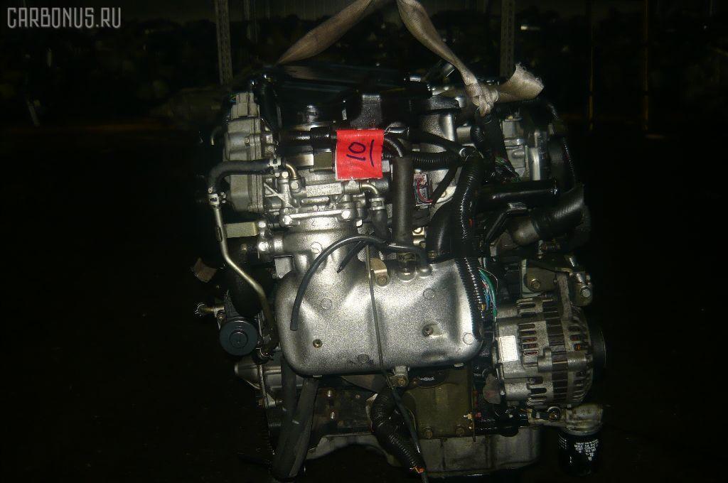Двигатель MITSUBISHI PAJERO IO H76W 4G93. Фото 3