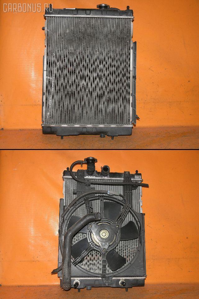 Радиатор ДВС NISSAN CUBE AZ10 CGA3DE. Фото 9