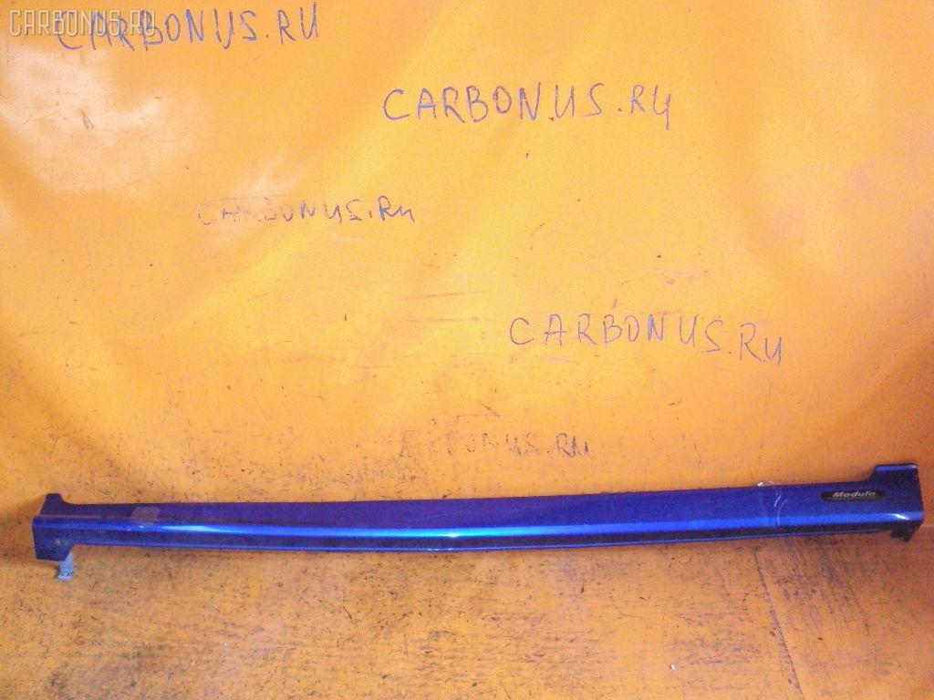 Порог кузова пластиковый ( обвес ) HONDA FIT GD1. Фото 6
