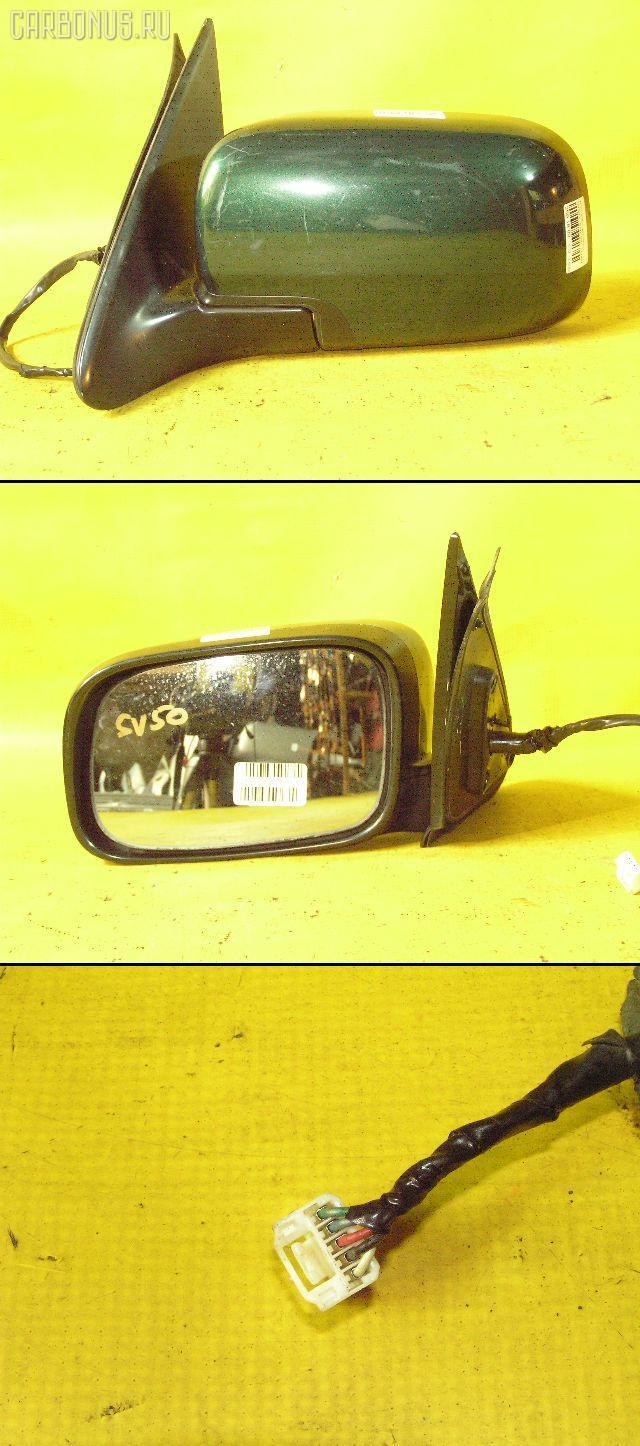 Зеркало двери боковой TOYOTA VISTA SV50. Фото 8
