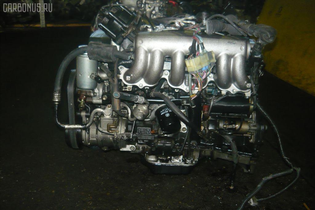 Двигатель TOYOTA CROWN JZS141 1JZ-GE. Фото 6