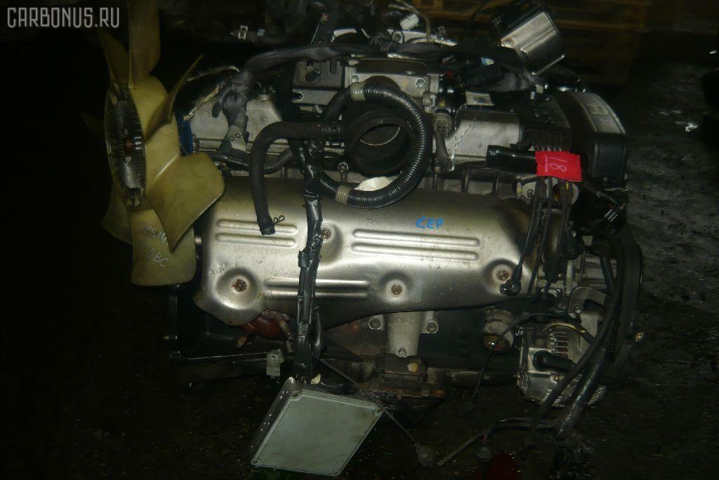 Двигатель TOYOTA CROWN JZS141 1JZ-GE. Фото 8