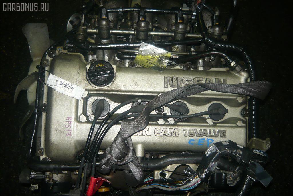 Двигатель NISSAN SILVIA KPS13 SR20DE. Фото 4