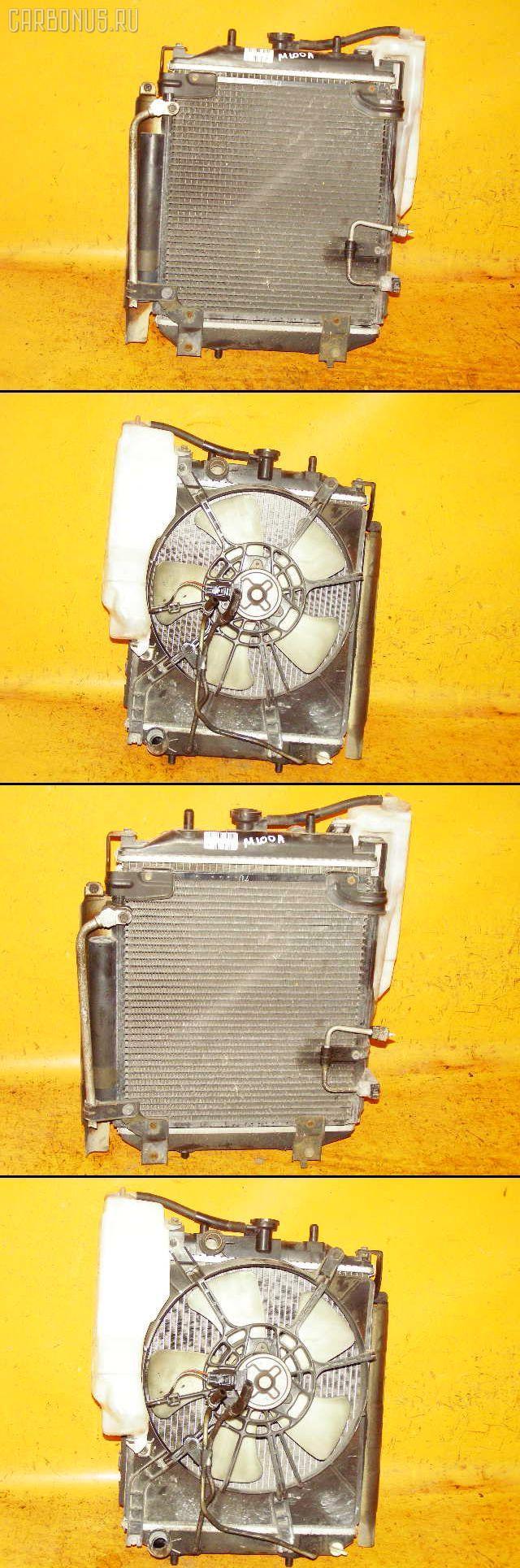 Радиатор ДВС TOYOTA DUET M100A EJ-DE. Фото 3