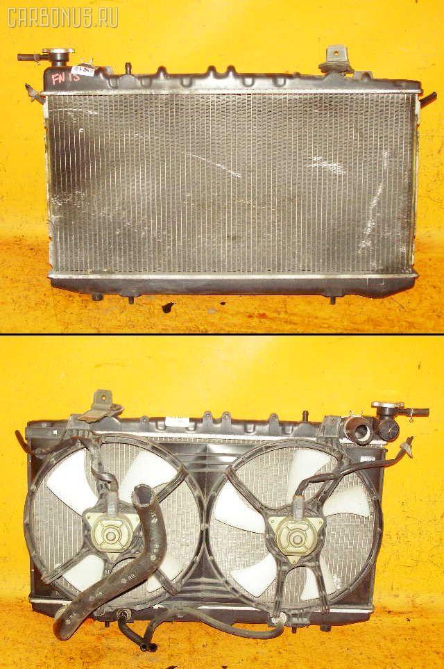 Радиатор ДВС NISSAN FN15 GA15DE. Фото 1