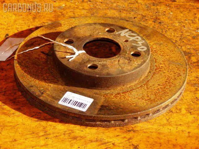 Тормозной диск TOYOTA FUNCARGO NCP20. Фото 4