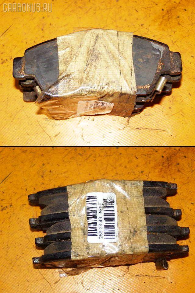 Тормозные колодки HONDA CIVIC EU1 D15B. Фото 1