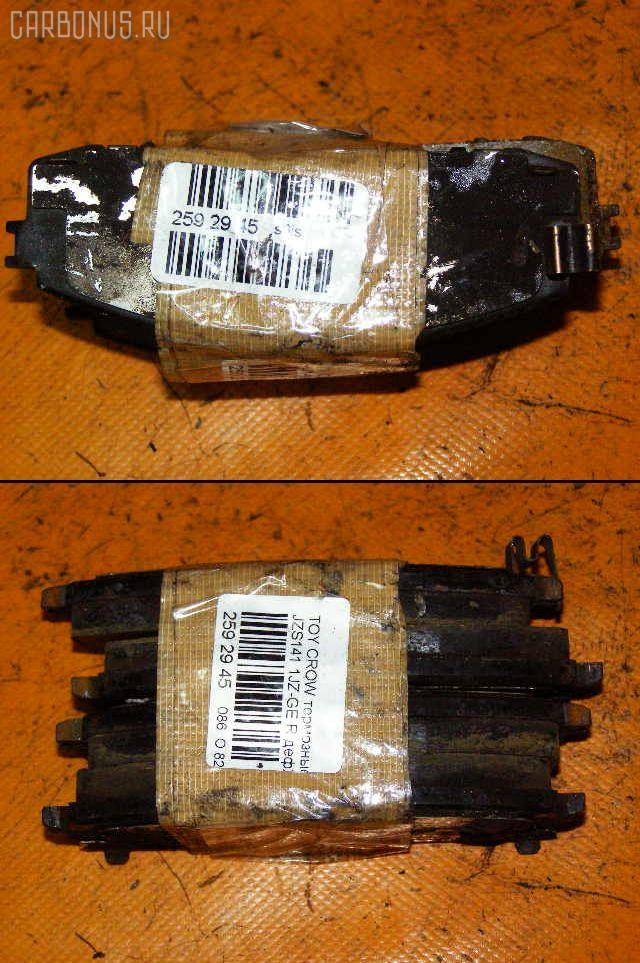 Тормозные колодки TOYOTA MARK II GX81 1G-GE. Фото 2