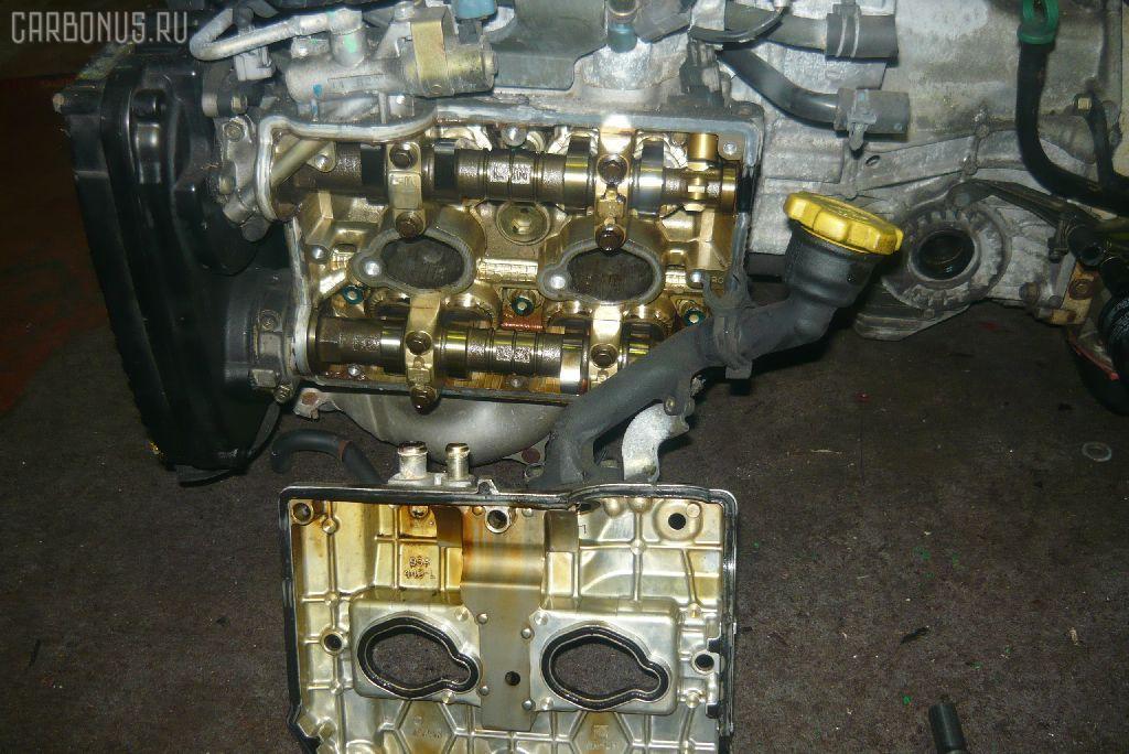 Двигатель SUBARU FORESTER SG5 EJ205-T. Фото 2