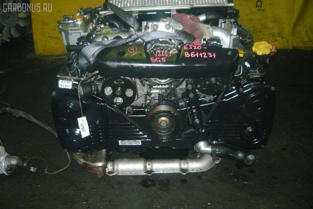 Двигатель SUBARU FORESTER SG5 EJ205-T. Фото 3
