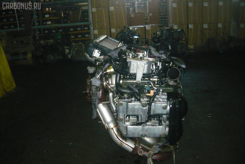 Двигатель SUBARU FORESTER SG5 EJ205-T. Фото 4