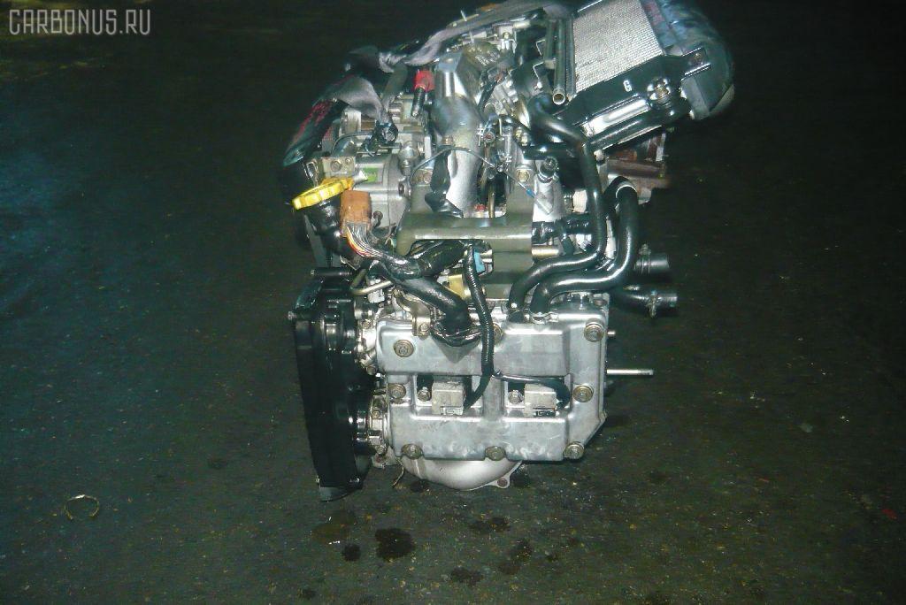 Двигатель SUBARU FORESTER SG5 EJ205-T. Фото 5