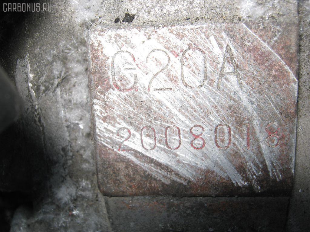 Двигатель HONDA INSPIRE UA1 G20A. Фото 8