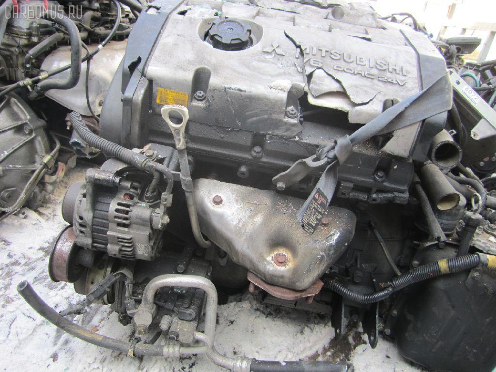 Двигатель MITSUBISHI DIAMANTE F41A 6G73. Фото 4