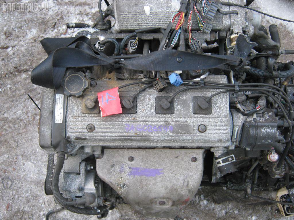 Двигатель TOYOTA SPRINTER CARIB AE115G 7A-FE. Фото 2