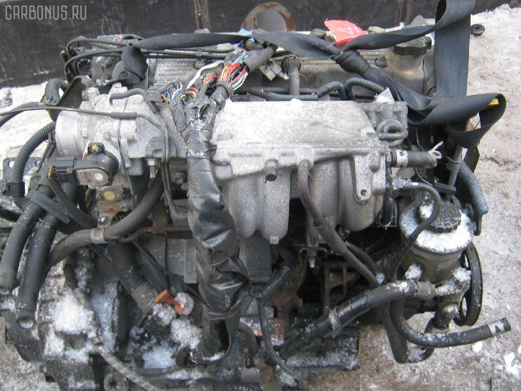 Двигатель TOYOTA SPRINTER CARIB AE115G 7A-FE. Фото 4