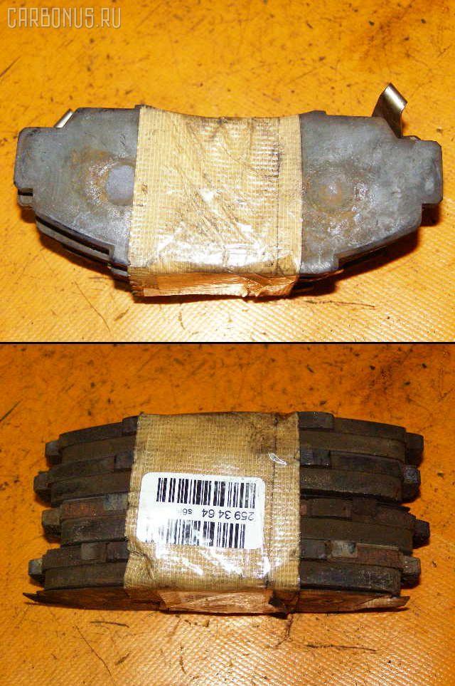 Тормозные колодки HONDA INSPIRE UA1 G20A. Фото 2