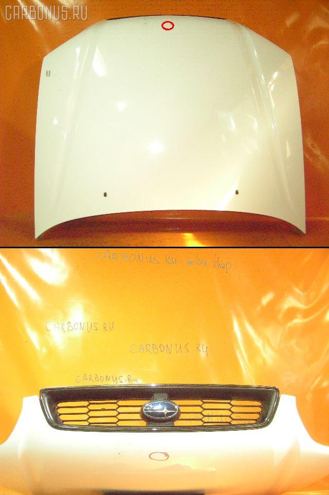 Капот SUBARU LEGACY BH5. Фото 1