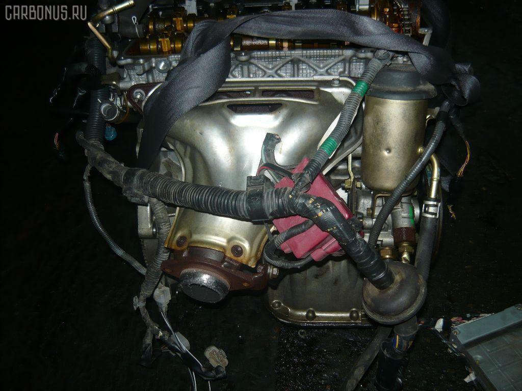 Двигатель TOYOTA PLATZ NCP16 2NZ-FE. Фото 4