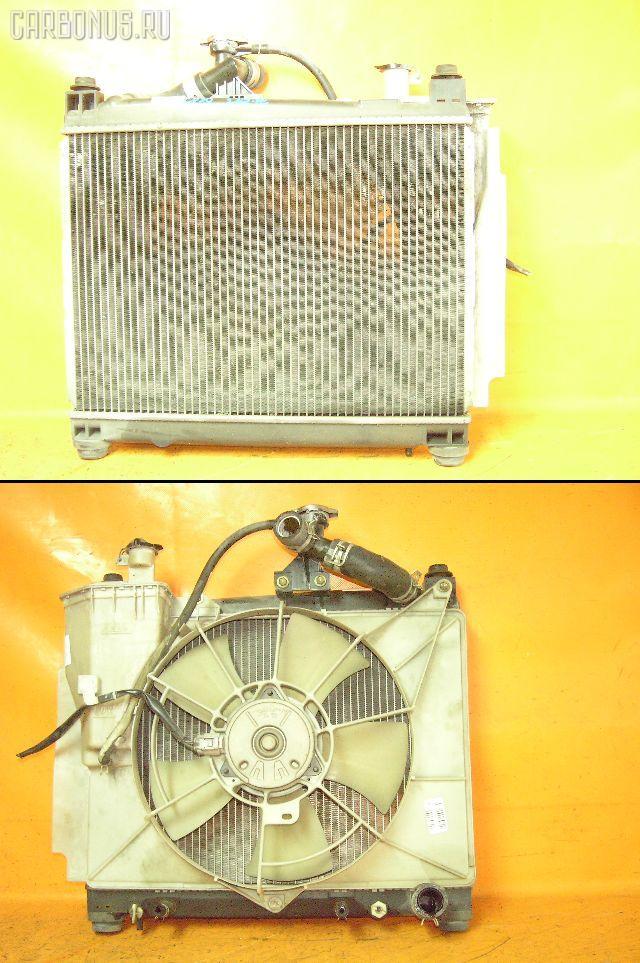 Радиатор ДВС TOYOTA FUNCARGO NCP20 2NZ-FE. Фото 1