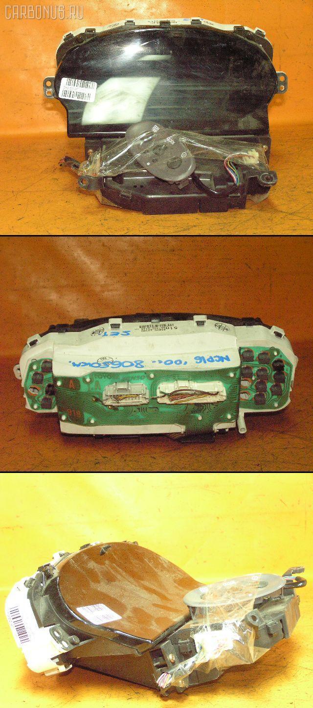 Спидометр TOYOTA PLATZ NCP16 2NZ-FE. Фото 1