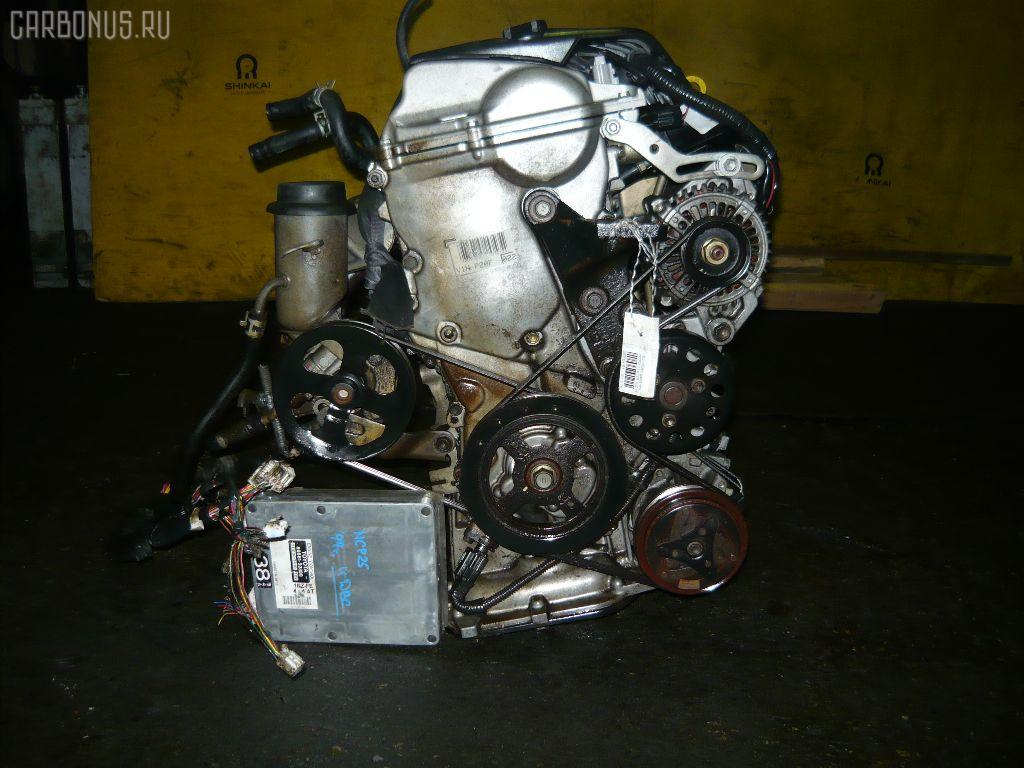 Двигатель TOYOTA FUNCARGO NCP21 1NZ-FE. Фото 10