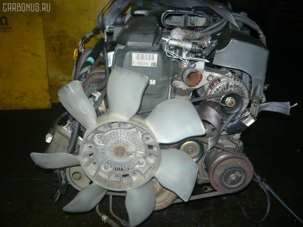 Двигатель TOYOTA CHASER GX105 1G-FE. Фото 7