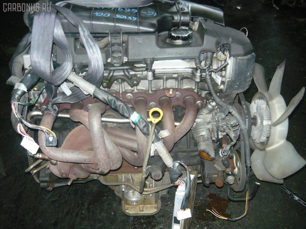 Двигатель TOYOTA MARK II GX105 1G-FE. Фото 9