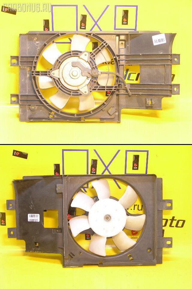 Вентилятор радиатора кондиционера NISSAN CUBE AZ10 CGA3DE. Фото 3