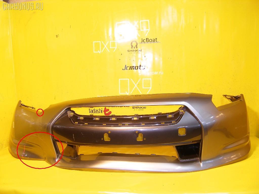 Бампер NISSAN GT-R R35. Фото 1
