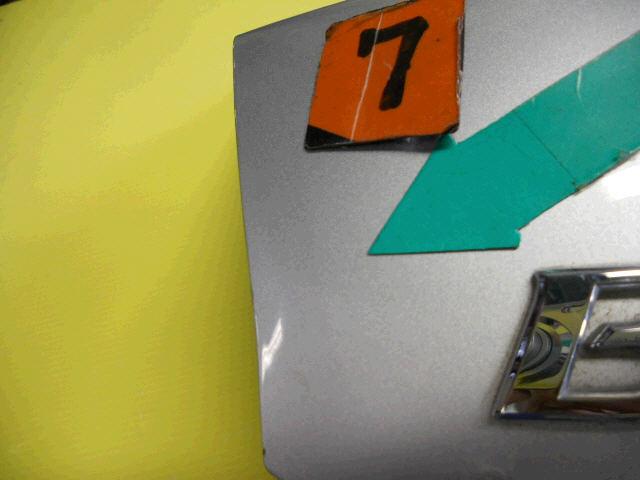 Крышка багажника TOYOTA BELTA SCP92. Фото 8