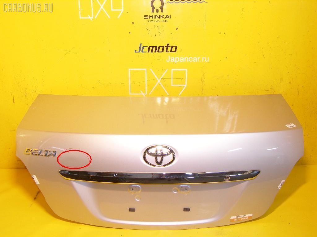 Крышка багажника TOYOTA BELTA SCP92. Фото 5