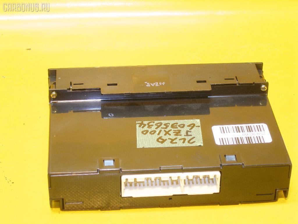 Блок управления климатконтроля TOYOTA CRESTA JZX100 1JZ-GE. Фото 2