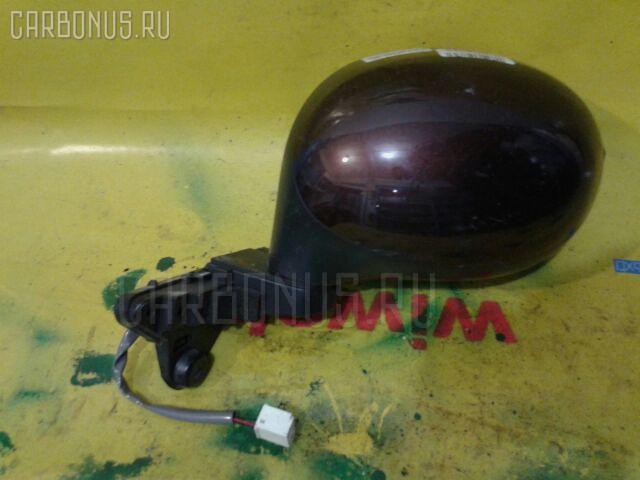 Зеркало двери боковой NISSAN MOCO MG22S Фото 3