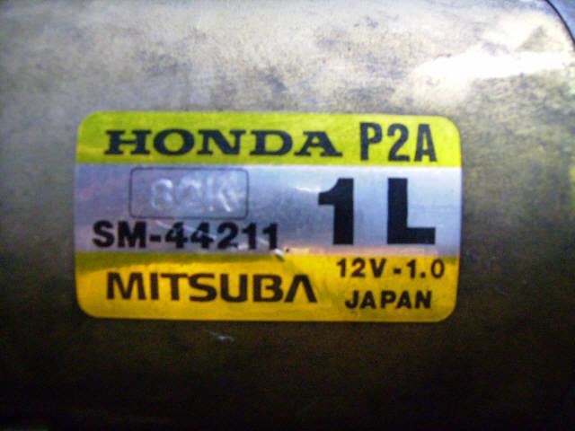 Стартер HONDA ORTHIA EL2 B20B. Фото 3
