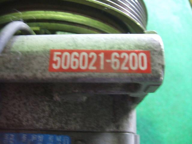 Компрессор кондиционера NISSAN SUNNY FB15 QG15DE. Фото 6