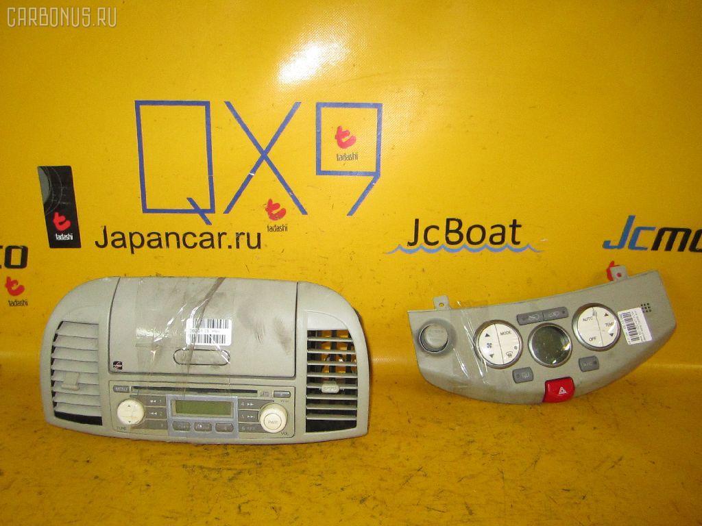 Блок управления климатконтроля NISSAN MARCH AK12 CR12DE. Фото 2