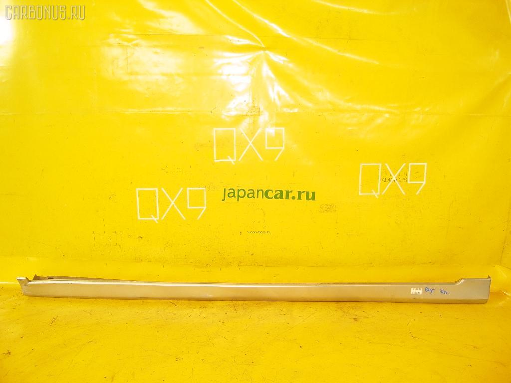 Порог кузова пластиковый ( обвес ) SUBARU LEGACY WAGON BH5. Фото 5