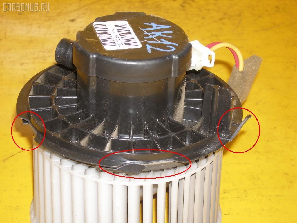 Мотор печки NISSAN MARCH BK12. Фото 11