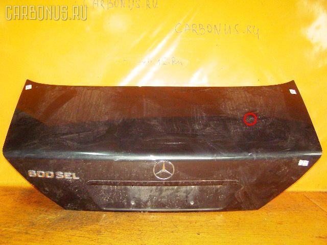 Крышка багажника MERCEDES-BENZ S-CLASS W140.057. Фото 2