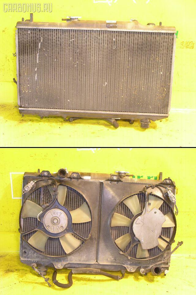 Радиатор ДВС TOYOTA CALDINA ST215W 3S-GTE. Фото 4
