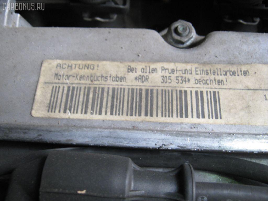 Двигатель AUDI A4 8DADR ADR. Фото 2