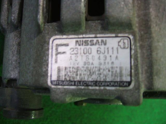 Генератор NISSAN RNESSA N30 SR20DE. Фото 2