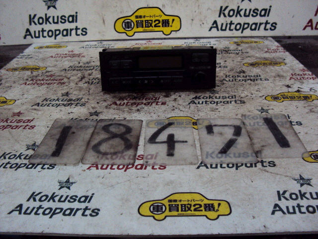 Блок управления климатконтроля TOYOTA CHASER JZX100 1JZ-GE. Фото 8