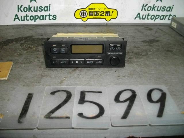 Блок управления климатконтроля TOYOTA CHASER JZX100 1JZ-GE. Фото 10