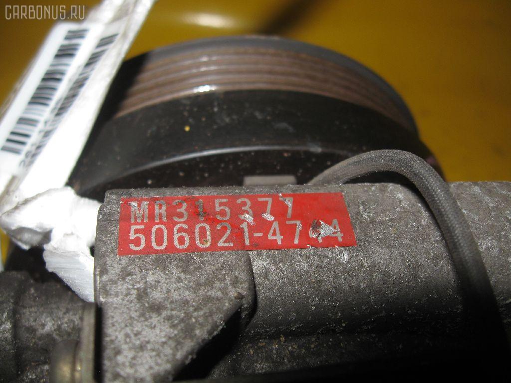 Компрессор кондиционера MITSUBISHI PAJERO IO H76W 4G93. Фото 1