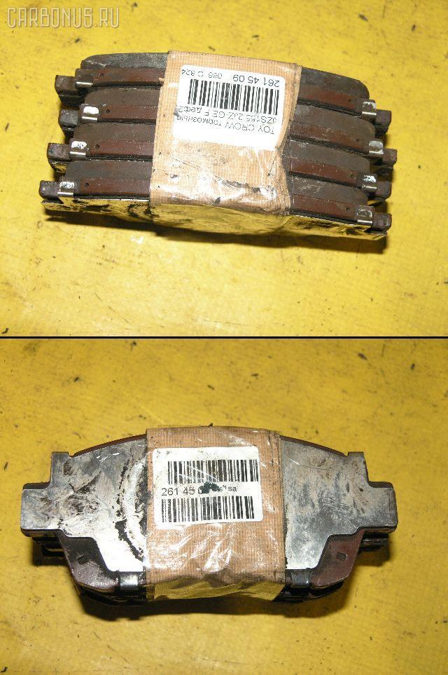 Тормозные колодки TOYOTA WINDOM VCV10 3VZ-FE. Фото 3