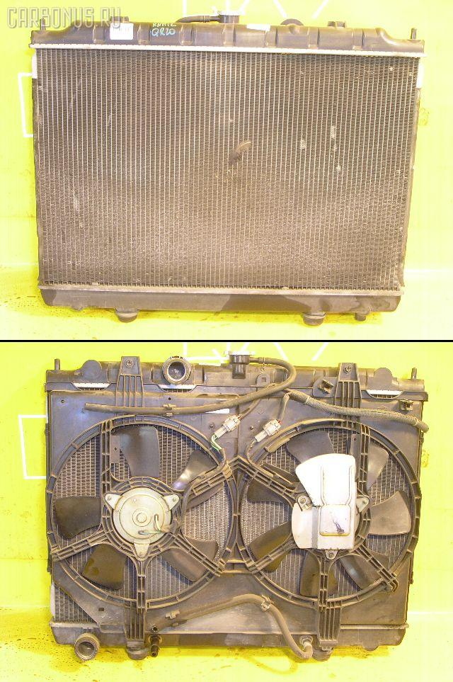 Радиатор ДВС NISSAN LIBERTY RNM12 QR20DE. Фото 1