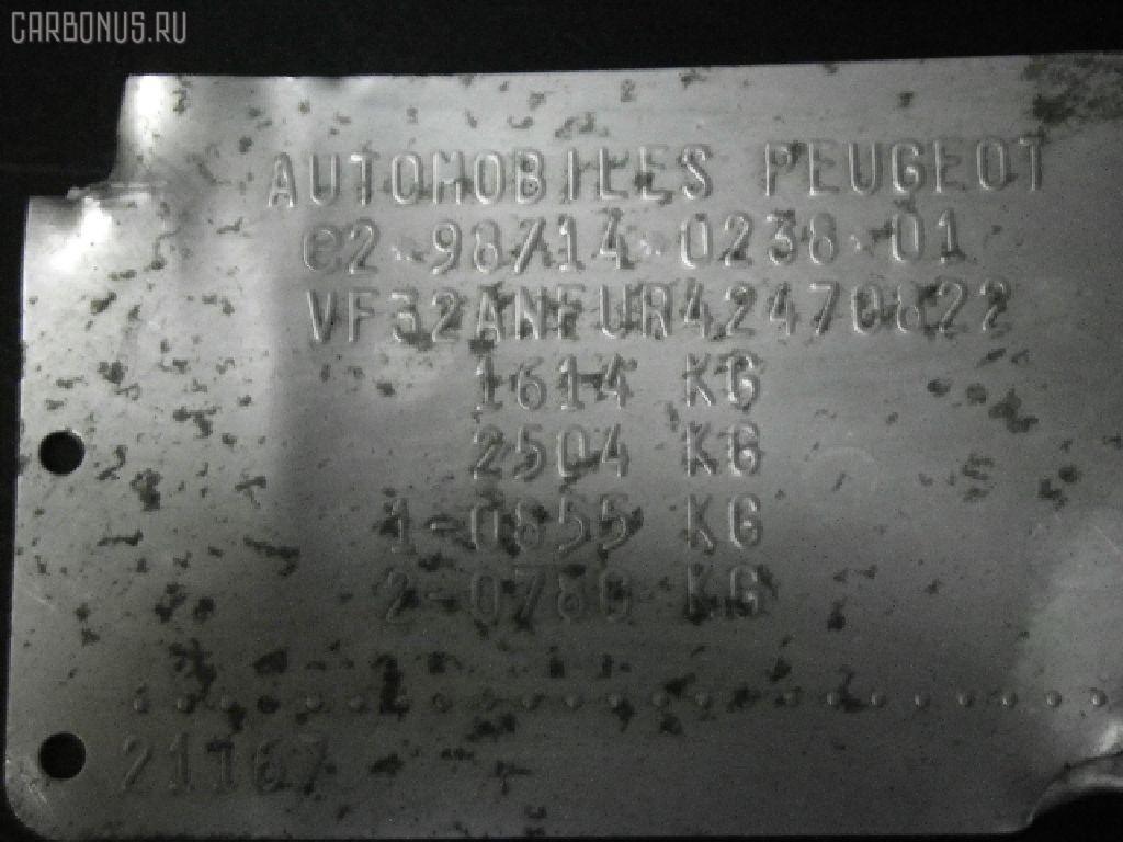 Привод PEUGEOT 206 2ANFU NFU-TU5JP4 Фото 5