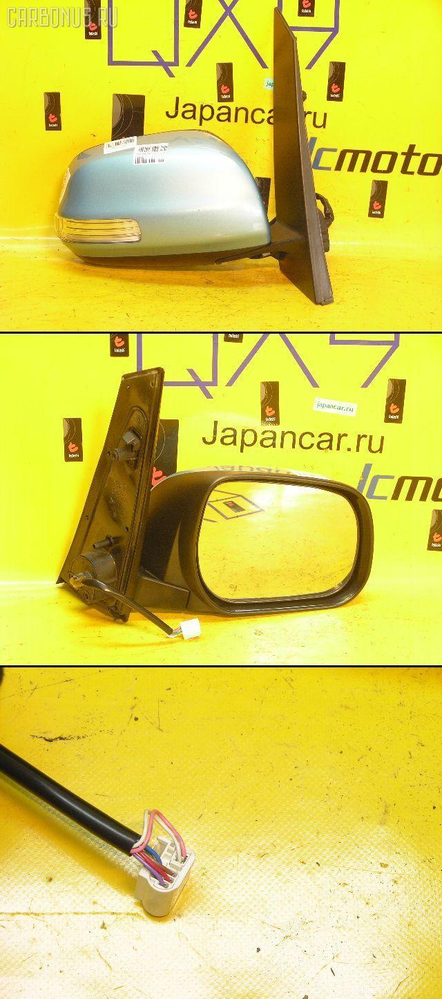 Зеркало двери боковой TOYOTA RACTIS NCP100. Фото 6